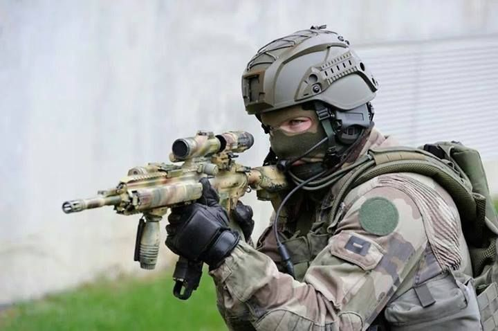 Special Forces (GIGN) from France.