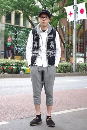 カウチンベスト コーデ メンズ Google 検索 ファッションアイデア