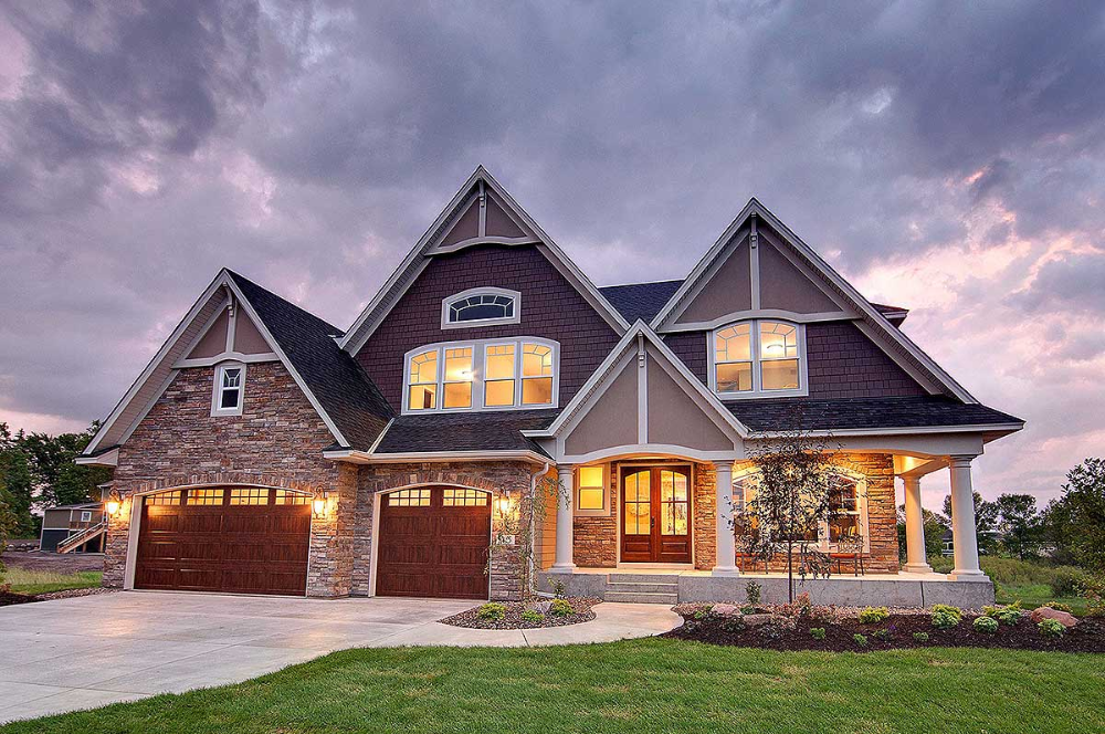 Plan 73354HS: Storybook House Plan with Open Floor Plan in ...