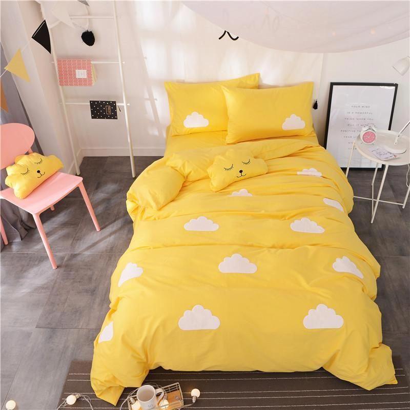 Bedding Xl Twin College Dorm Bedlinenrental Cute Bed Sets