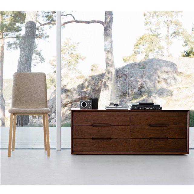 Commode 6 Tiroirs Mariko Am Pm Commode Am Pm Ventes Pas Cher Com Avec Images Mobilier De Salon Decoration Maison Meuble
