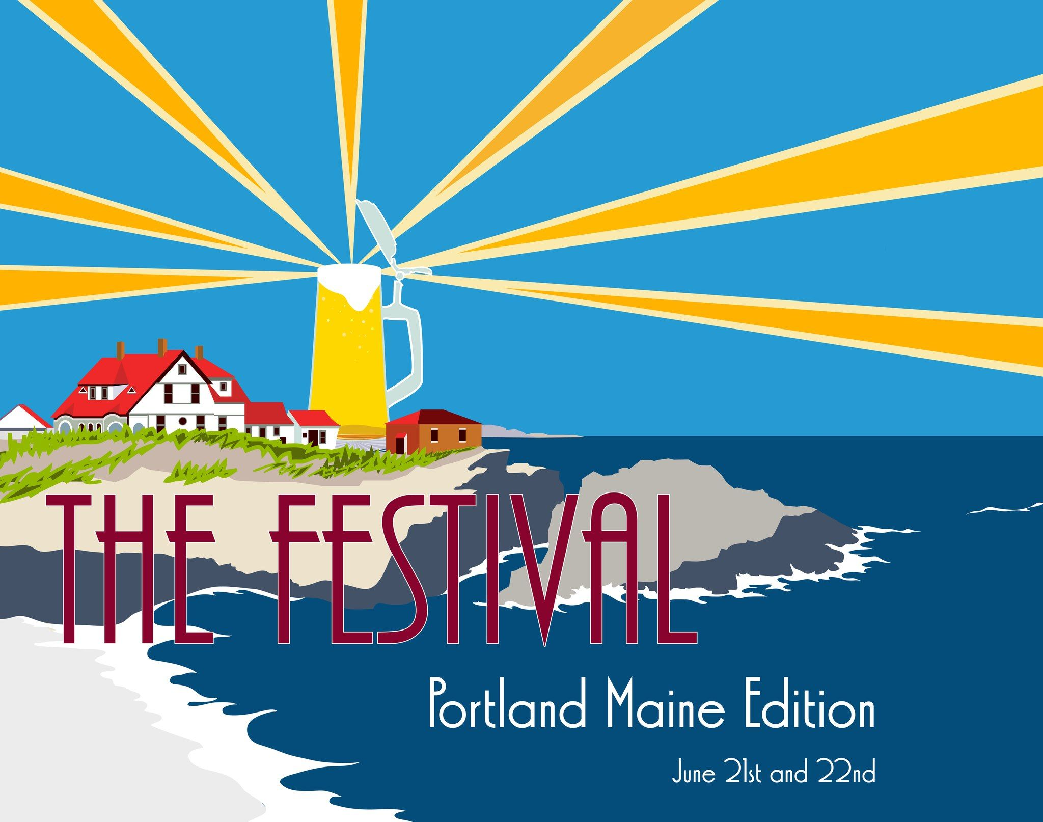 YAY! Lots of great beer AND Bite Into Maine will be there