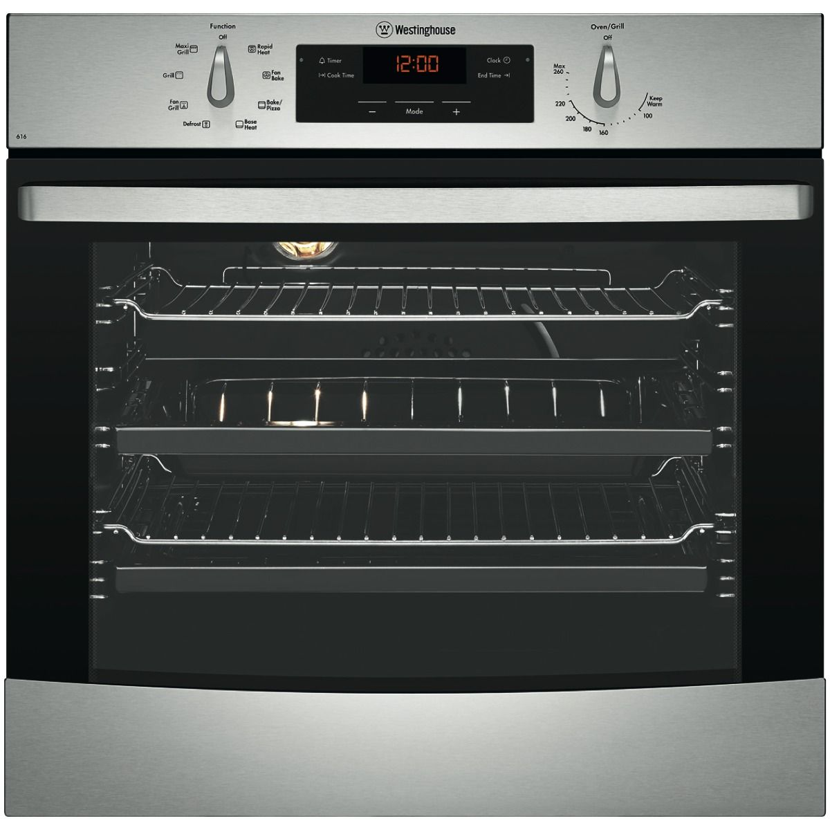 Westinghouse WVE616S 60cm Electric Oven at The Good Guys