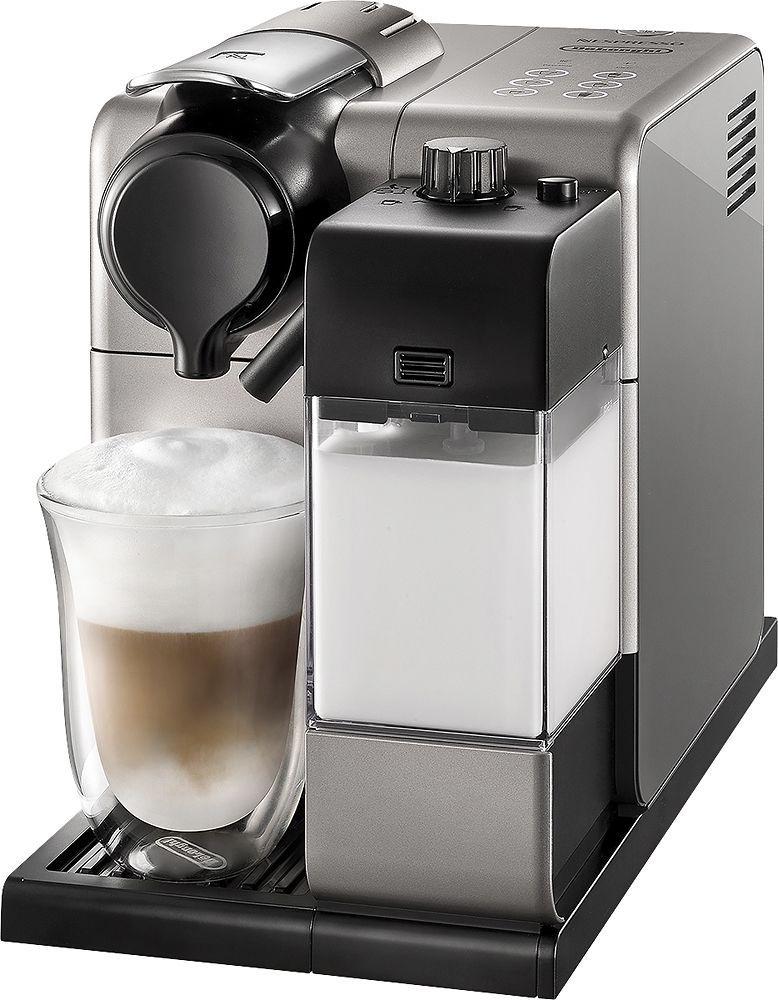 DeLonghi - Nespresso Lattissima Touch Espresso Maker - Silver, EN550S