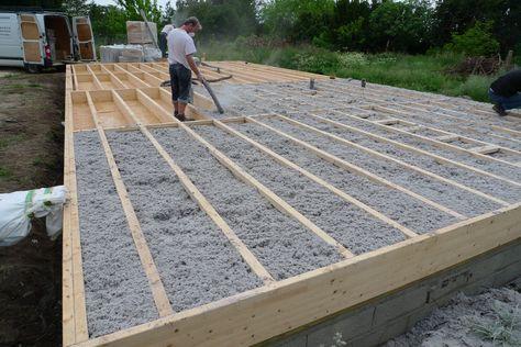 deck framing pourquoi pas une dalle en bois autoportante technic pinterest bau haus. Black Bedroom Furniture Sets. Home Design Ideas