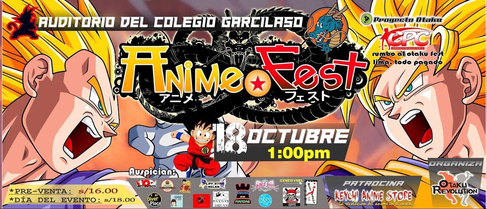 ANIME FEST DRAGON BALL 2015 - Lima, Peru, 18 de Octubre 2015