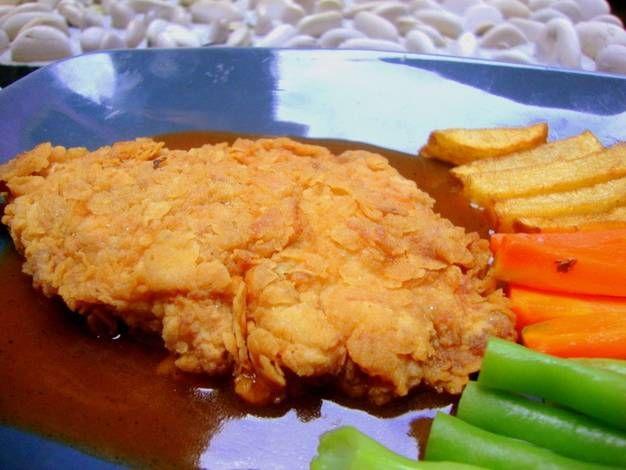 Resep Crispy Chicken Steak Ala Warung Steak Oleh Rainbow Plate Resep Resep Masakan Resep Resep Ayam