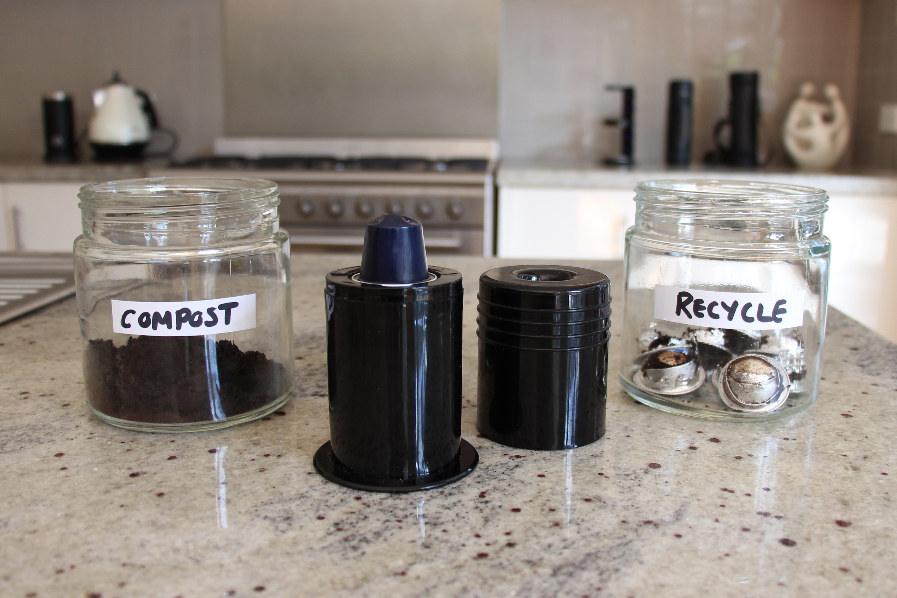 Nespresso Capsule Recycling At Home Ecopress Is Your Easy Personal Nespresso Capsule A Portable Espresso Machine Nespresso Coffee Capsules Coffee Capsules