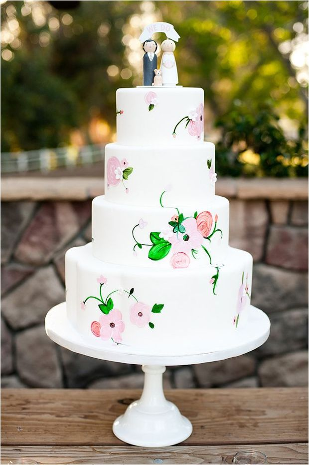http://www.wantthatwedding.co.uk/2014/09/03/22-hand-painted-wedding-cakes-will-inspire/