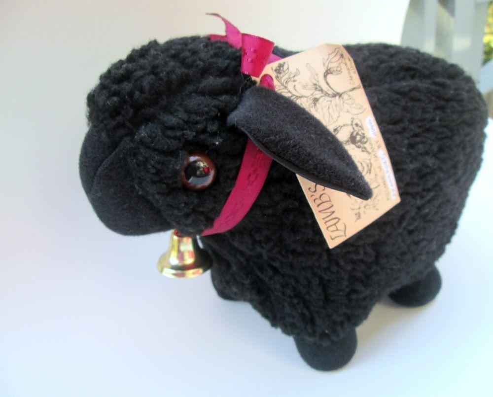 Black Sheep Plush Stuffed Animal Large Plush Sheep Plush Lamb