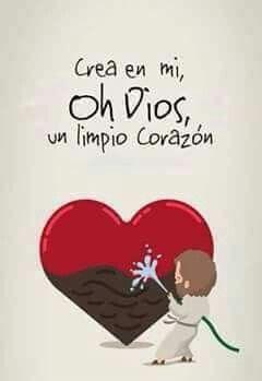 Crea en mi oh Dios un limpio corazon