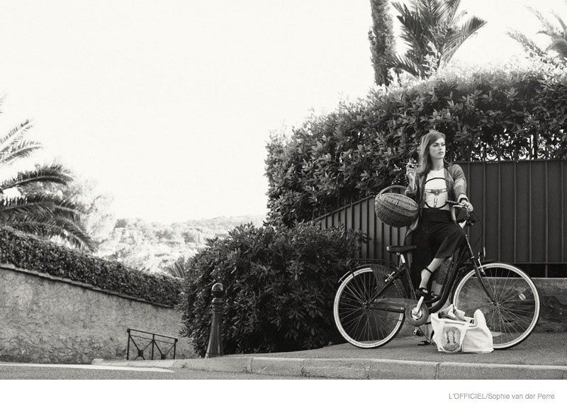60s Calling: Sophie Vlaming by Sophie van der Perre for LOfficiel Paris