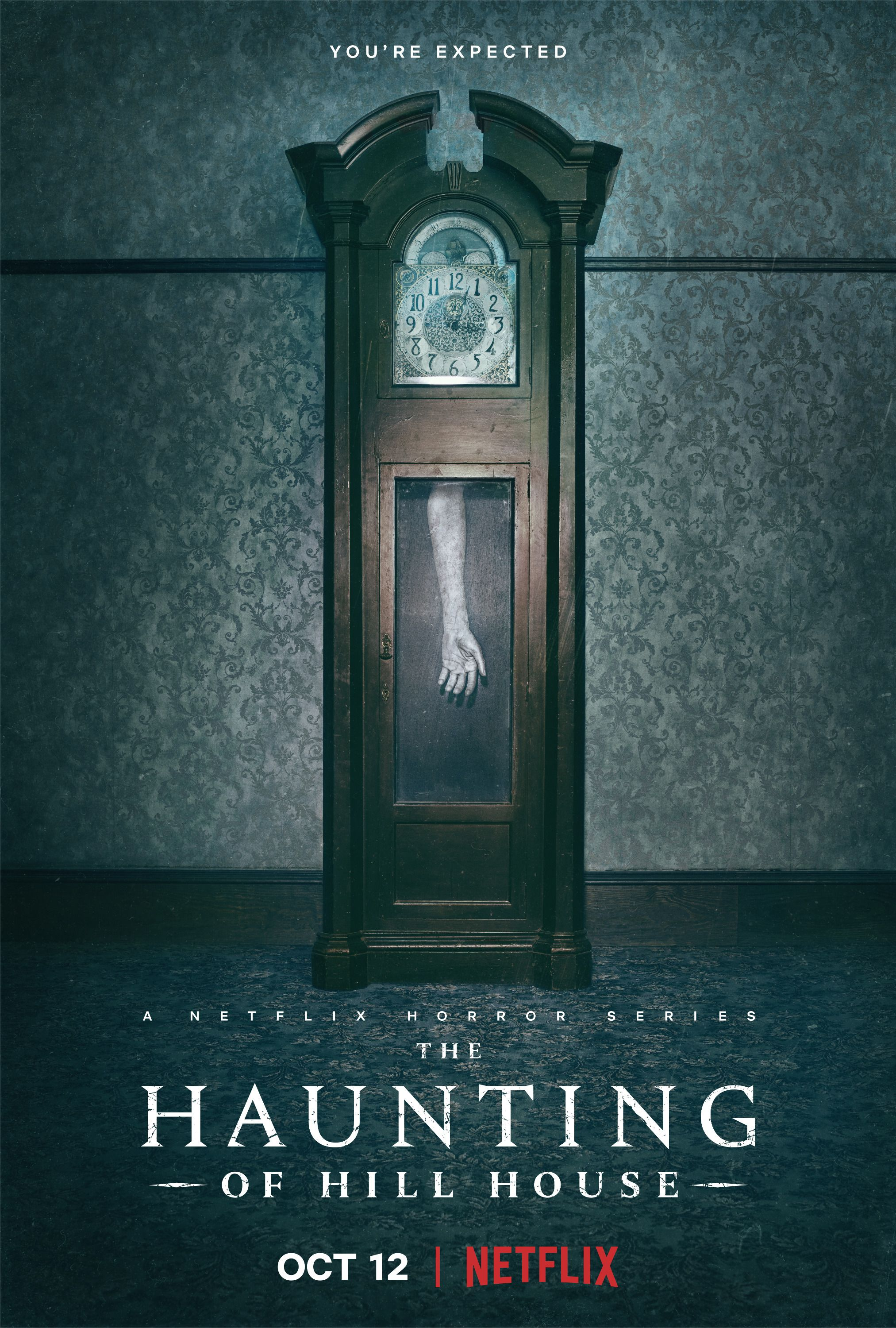 The Haunting of Hill House Poster Mike Flanagan Horror TV Series Print Sizes