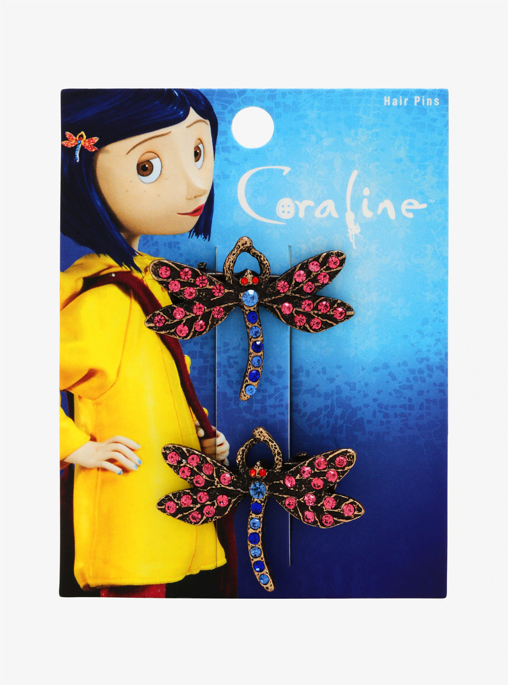 Coraline Dragonfly Hair Clip Set Boxlunch Exclusive Coraline Coraline Aesthetic Coraline Jones
