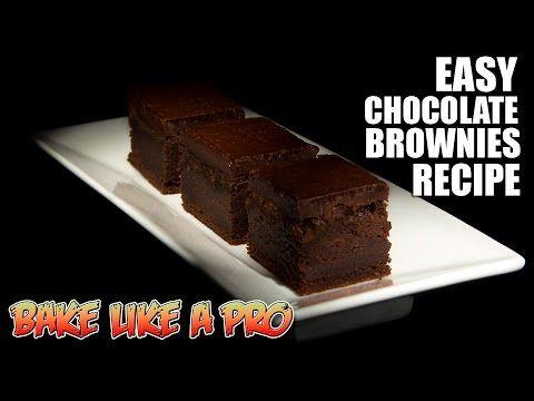 Easy Chocolate Brownies Recipe | Chocolate Shopper