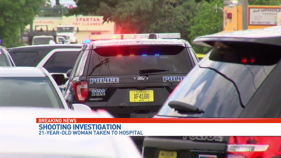Woman hospitalized after West Palm Beach shooting | #GunFAIL