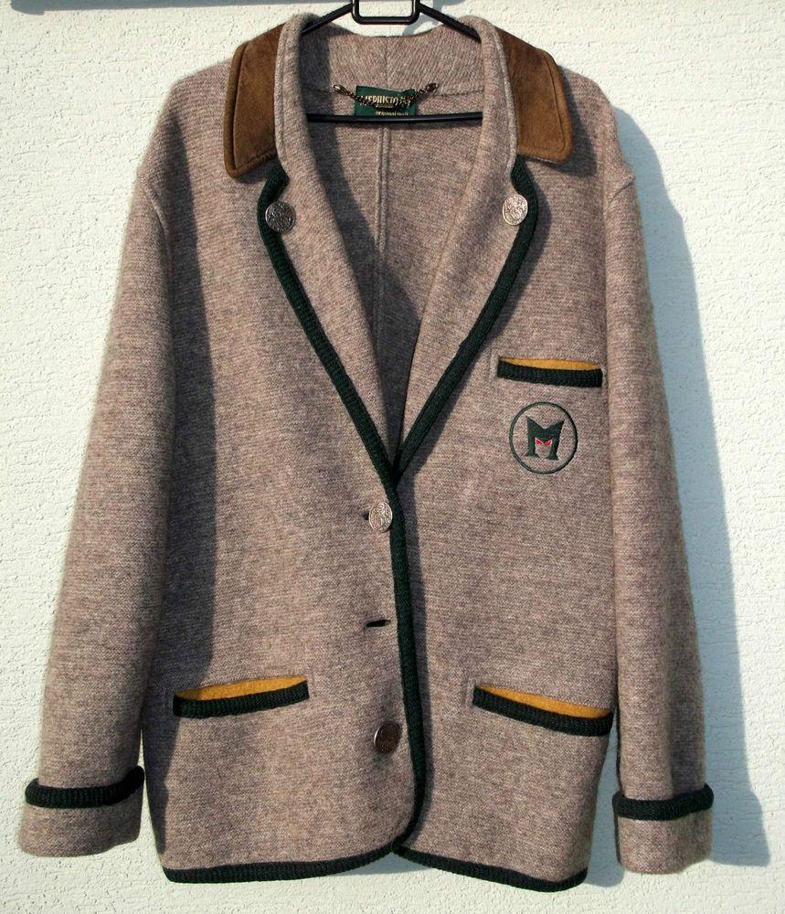 MEPHISTO Wool Blazer Jacket Coat Vintage Austria Size 38 M - L very RARE