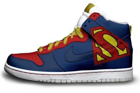 chaussure superman nike