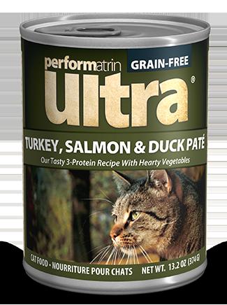 Performatrin Ultra Turkey Salmon Duck Pate Cat Food