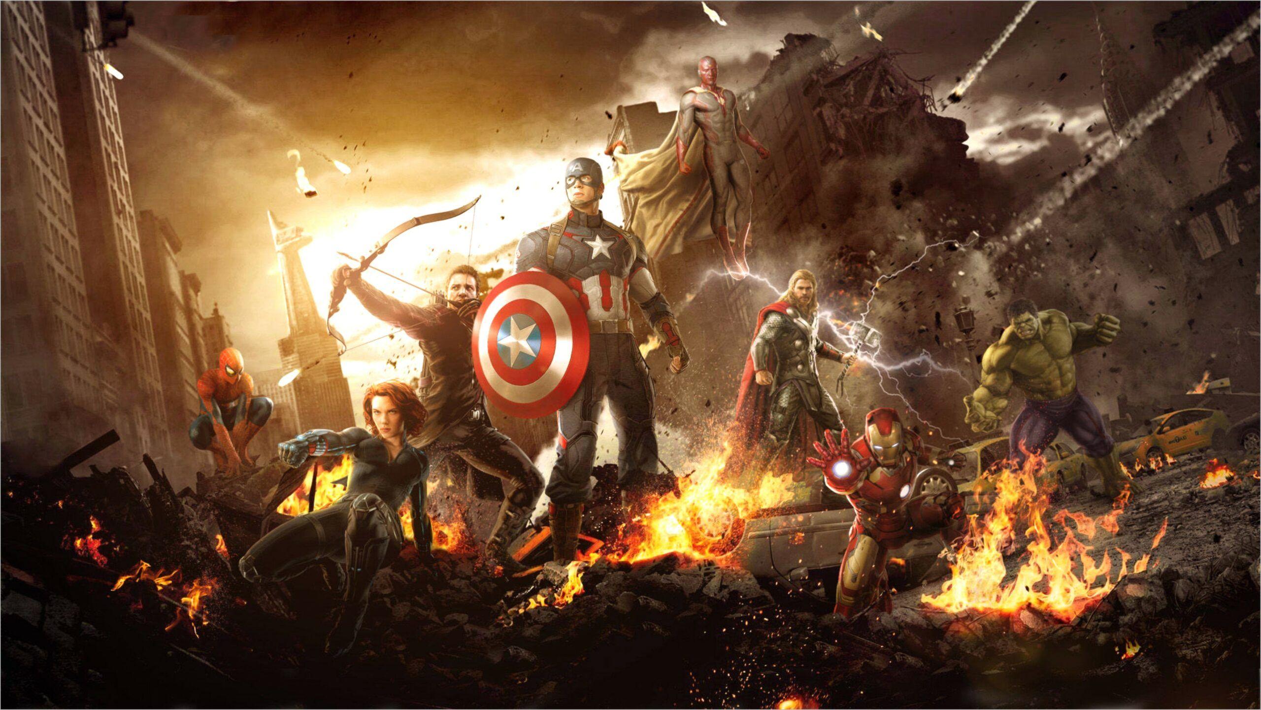 New Avengers 4k Wallpaper Avengers Wallpaper Marvel Wallpaper Avengers