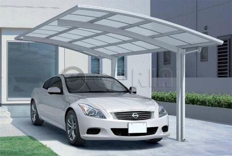 Policarbonato alveolar fredy pinterest cochera for Garajes para carros