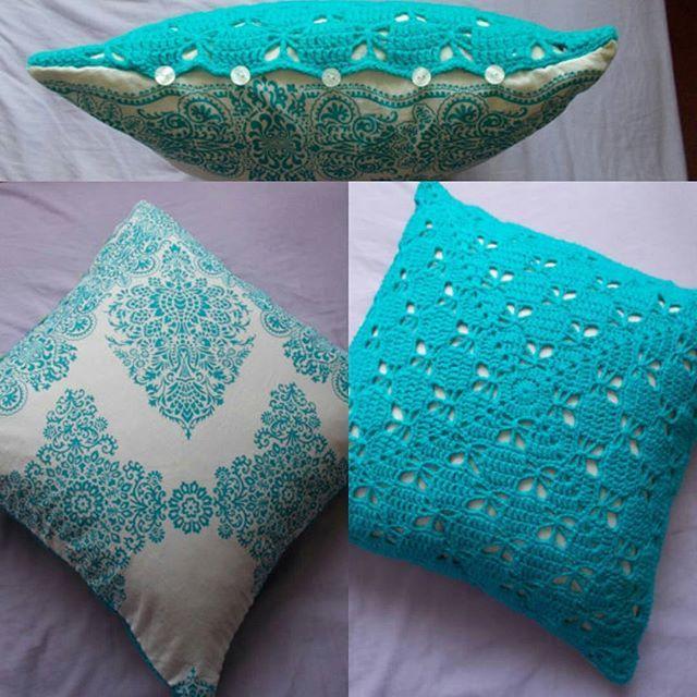 louizamakes crochet pillow | coussin | Pinterest