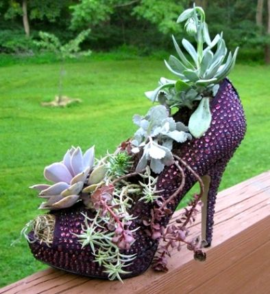 16 High Heel Planters Daily Inspirations Freshouz Com