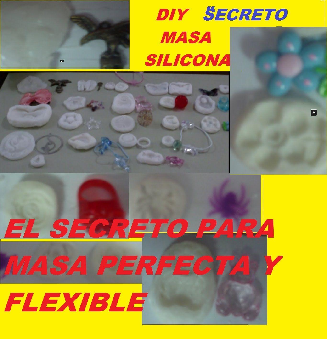 Masa o pasta de silicon el secreto para hacerla perfecta y - Masilla para madera casera ...