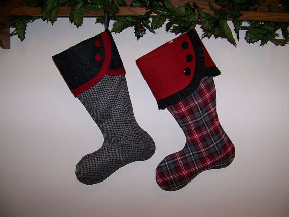 Christmas Stocking pdf Pattern and Tutorial Easy pattern Download e-file by AdoriesDesigns, $5.00 USD