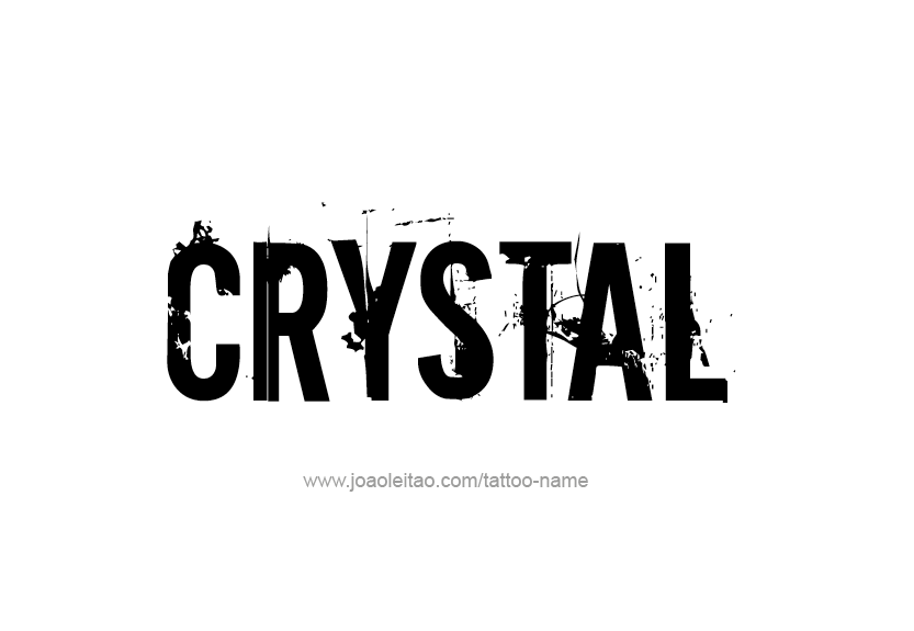 Crystal Name Tattoo Designs Name Tattoos Tattoo Designs Name Tattoo