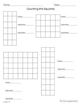 Partitioning Rectangles 2nd Grade Math Math Lessons Math Freebie