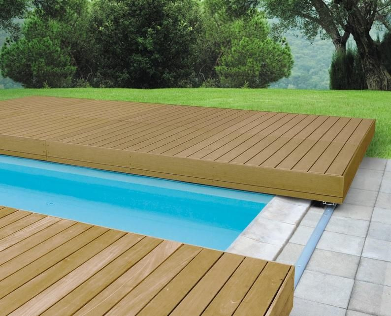 Walu Deck Retractable Swimming Pool Timber Safety Decking Pool Cover Swimming Pools Swimming Pool Safety