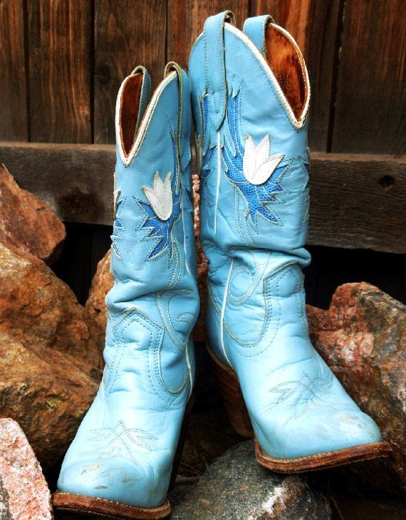 howtocute.com blue cowgirl boots (13
