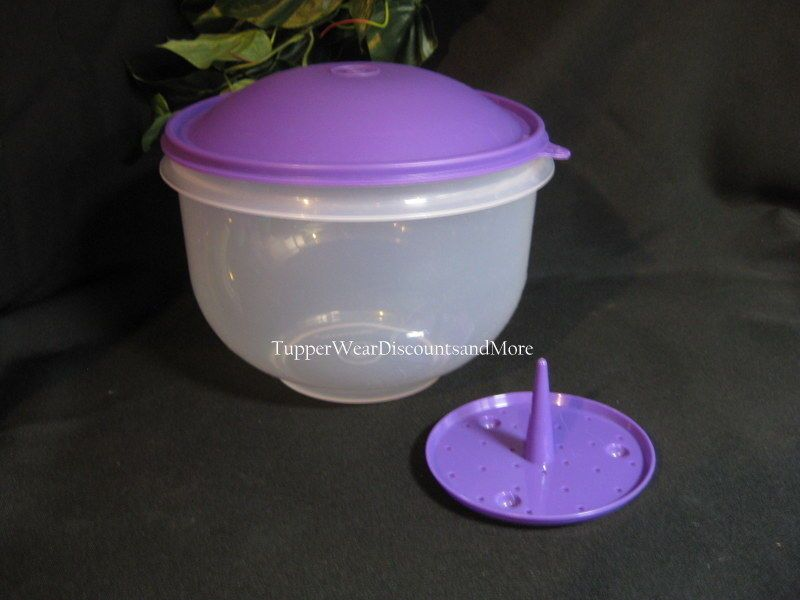 Tupperware NEW RARE Lettuce Super Crisp It Storage Container Jewel