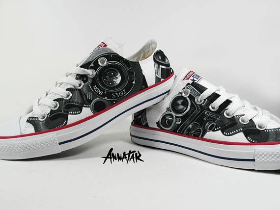 Pin on Custom Converse Sneakers streetwear by Annatar