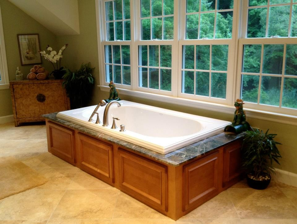 My Master Bath Bubble Jet Tub With Images Jetted Bath Tubs