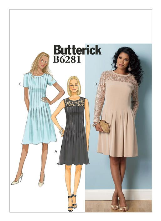 B6281 | Butterick Patterns | Clothes | Pinterest | Pattern, Sewing ...