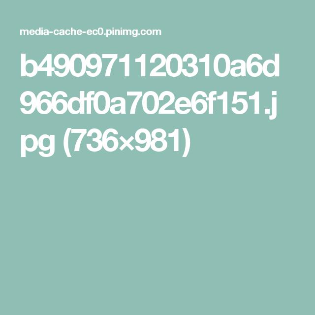 b490971120310a6d966df0a702e6f151.jpg (736×981)