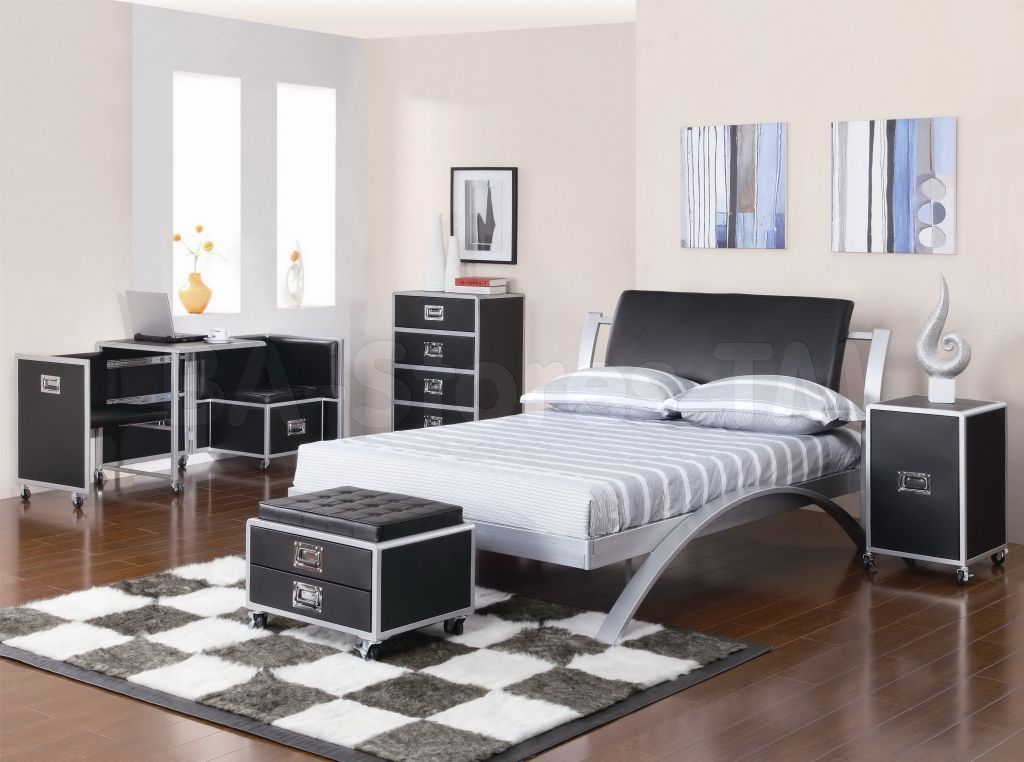 metal bedroom furniture sets - interior design ideas for bedroom