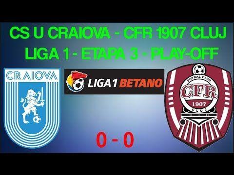 Liga I: CS Universitatea Craiova - CFR Cluj 2-1   Cs U Craiova-cfr Cluj