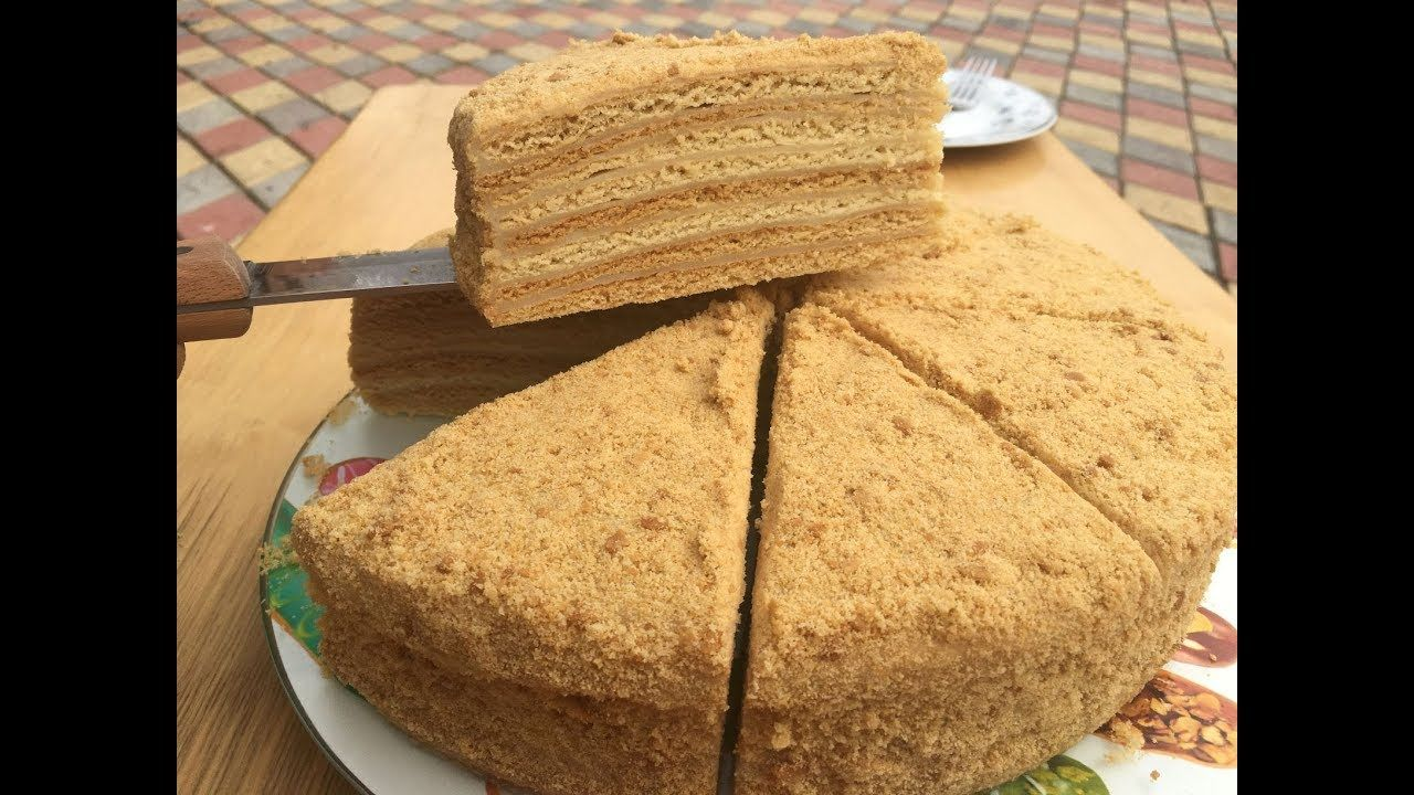 Russian Honey Cake Recipe Balli Tort Resepti Honey Cake Recipe Russian Honey Cake Cake Recipes