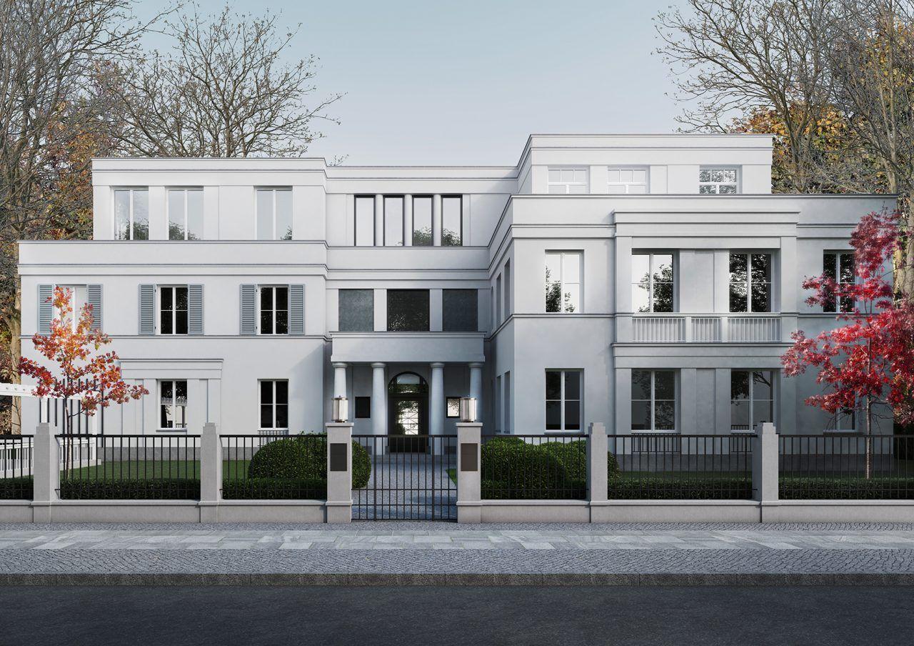 Immobilie Roosensweg Hamburg Haus architektur