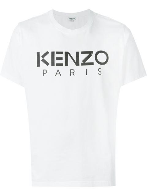Kenzo Shirt TIGER Cotton Man White 1LC 5CH400 1