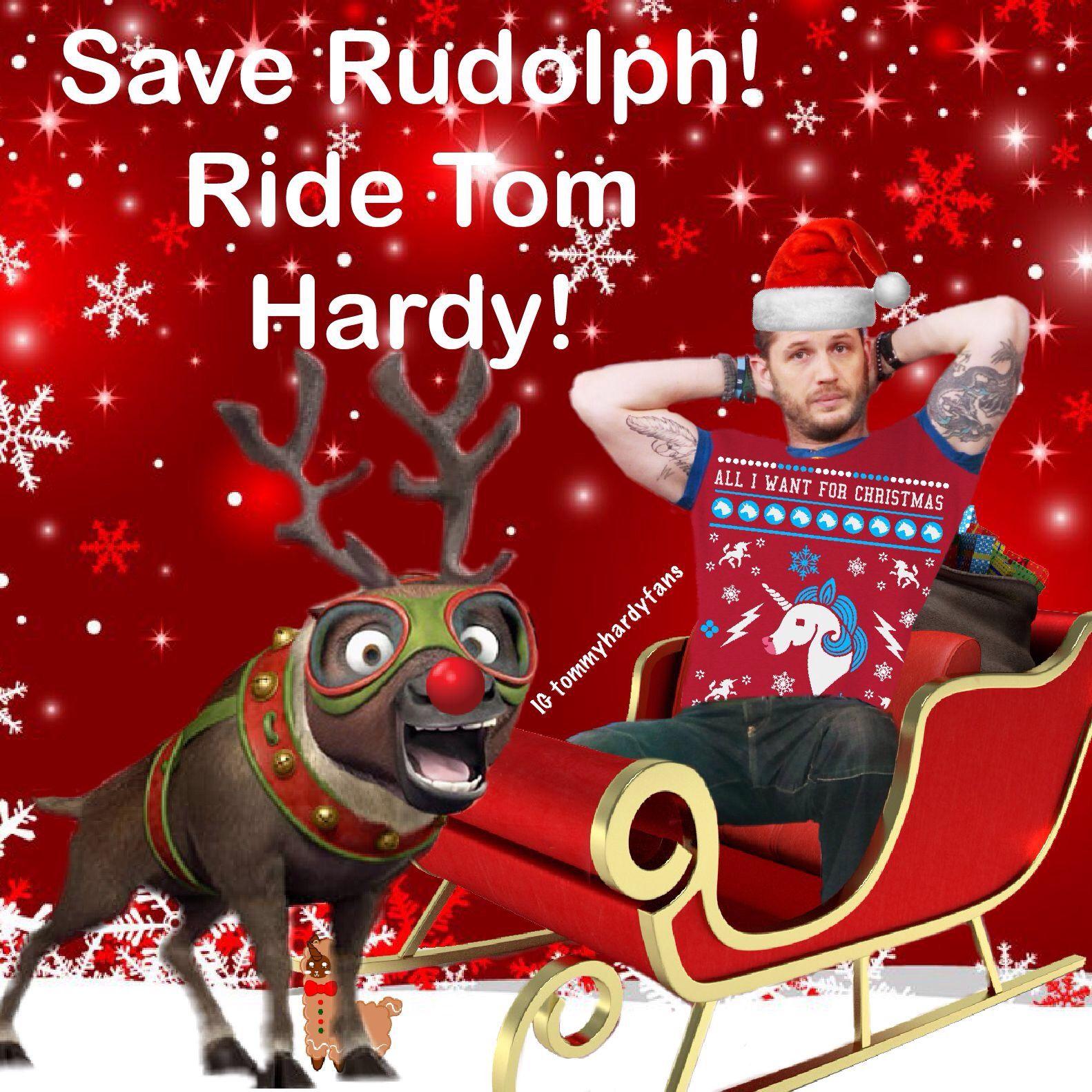 Santa Hardy Christmas memes Day 24 tomhardy