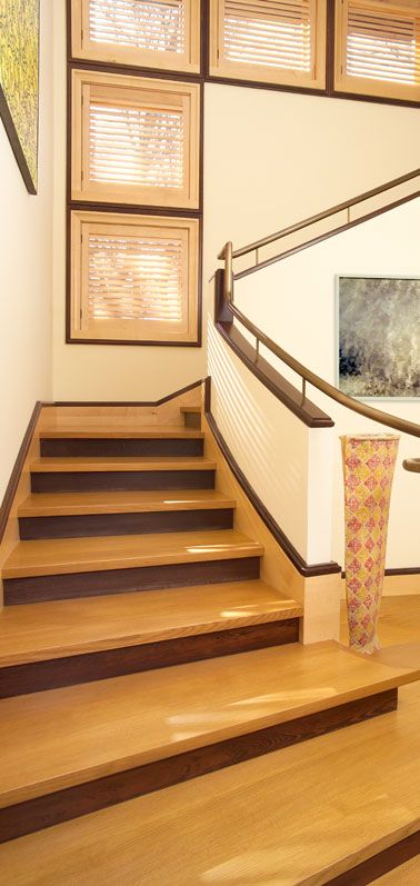 Best White Oak Stairway With Rift And Quartered Material 832 640 x 480