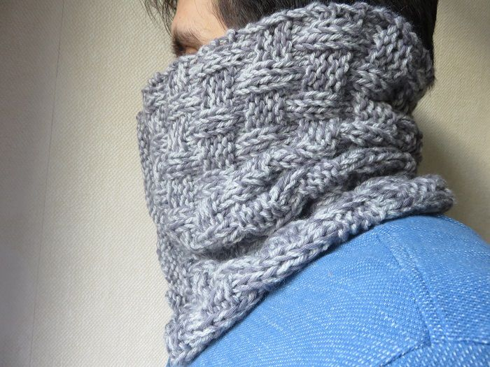 8a7b69a0d36e Le snood ALDO   Allmad(e)here tricote...   Pinterest   Tricot, Tuto ...