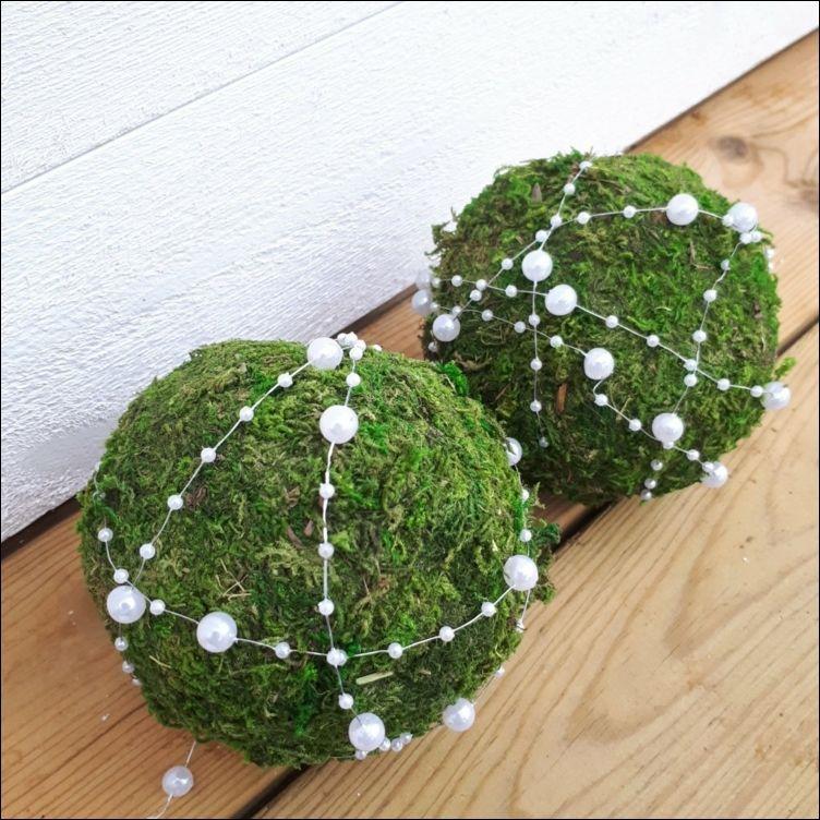 Photo of Crea bellissime e creative decorazioni natalizie con le palle di muschio! | Natale ?