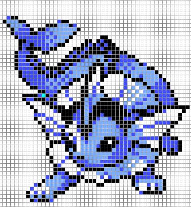 Dessin Pixel Art Pokemon
