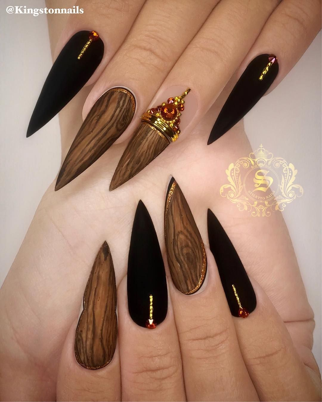 Kingston Ceo Of Stiletto Nails On Instagram What Kind Of Textures U Think This Is Stiletto Nails Designs Stiletto Nails Trendy Nails
