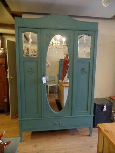 10 Ideeen Over Antieke Spiegelkast Antiek Antieke Kast Shabby Chic Cottage